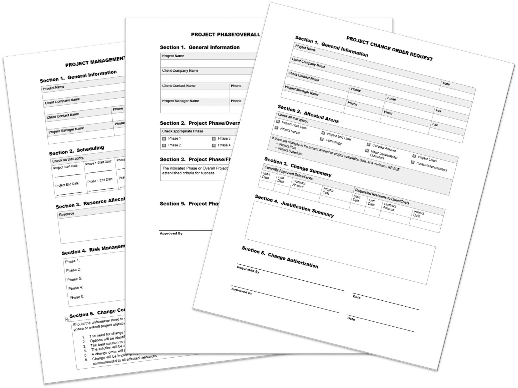 Project Forms