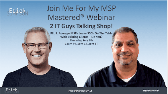 Back by popular demand: 2 IT Guys Talking Shop! Webinar