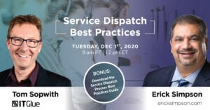 Service Dispatch Best Practices