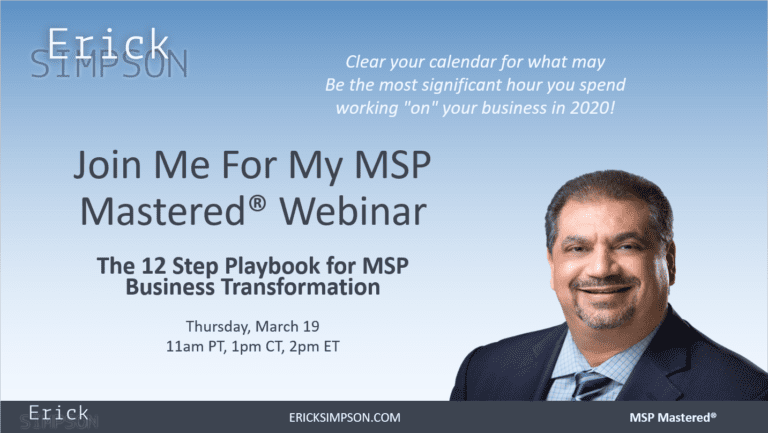 The 12 Step Playbook for MSP Business Transformation