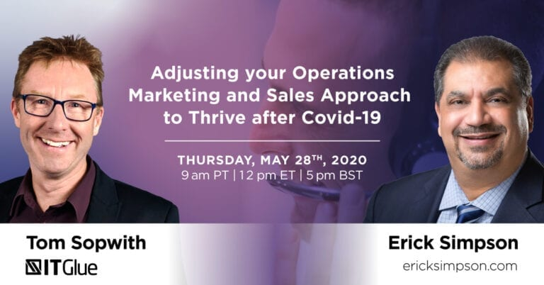 Adjust Operations, Marketing and Sales to Thrive During Covid-19