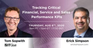 Tracking Critical Financial Performance Webinar Aug 6