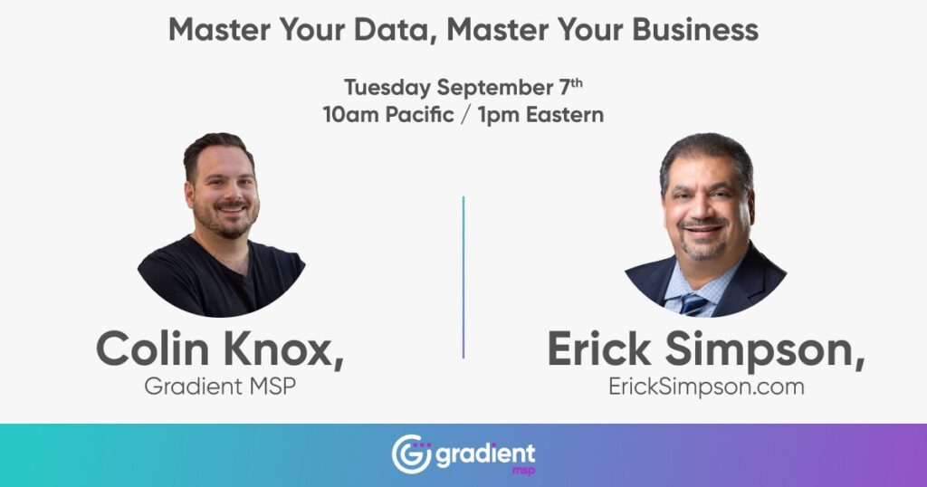 Master Your Data, Master Your Business