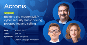 Building the Modern MSP Cybersecurity Stack